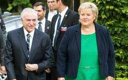 Primeira-ministra norueguesa diz que Lava Jato preocupa e pede 'limpeza'