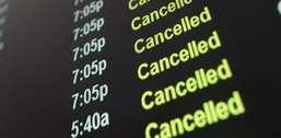 Cia aérea não deve indenizar por cancelamento de voo